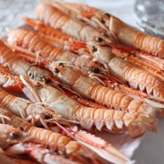 5-10 Whole Raw Langoustines Frozen 1kg
