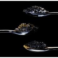 3 x 100g Caviar Gift - Sevruga Beluga Osetra